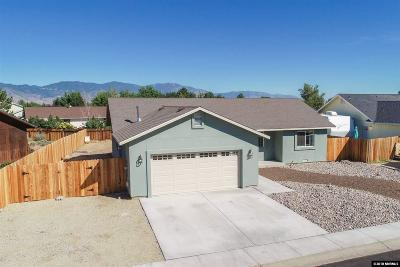 Gardnerville Single Family Home Price Reduced: 1320 Honeybee Lane