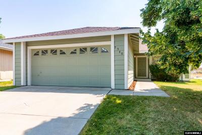 Washoe County Single Family Home Active/Pending-Call: 7540 Devonshire Ln.