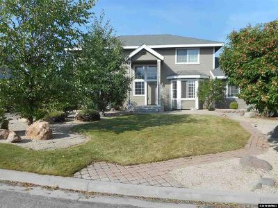 Washoe County Single Family Home Active/Pending-House: 15085 Western Springs Ct.