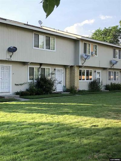 Gardnerville Condo/Townhouse For Sale: 1354 Eldorado #c