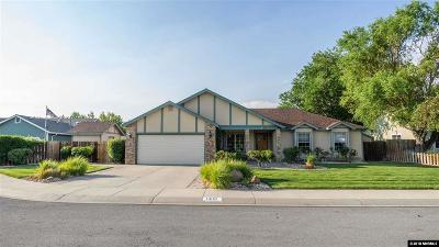 Gardnerville Single Family Home Active/Pending-Loan: 1408 Purple Sage Dr