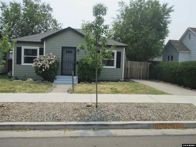 Reno Single Family Home Active/Pending-Call: 430 Wonder St.