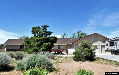 Sparks Single Family Home Active/Pending-House: 125 Leo