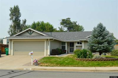 Sparks Single Family Home Active/Pending-Loan: 3605 Oakdale Ct.