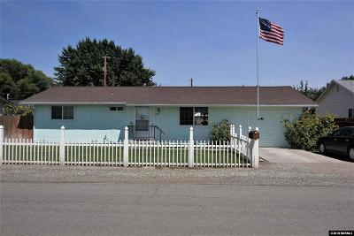 Yerington Single Family Home Active/Pending-Loan: 220 N Mountain View Street
