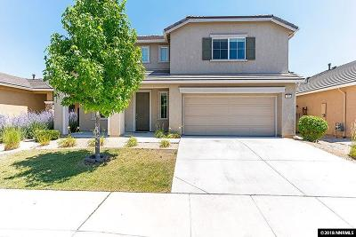 Sparks Single Family Home Active/Pending-Loan: 7375 Windswept Loop