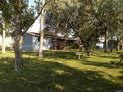 Yerington Manufactured Home Active/Pending-House: 44 Bonanza St.