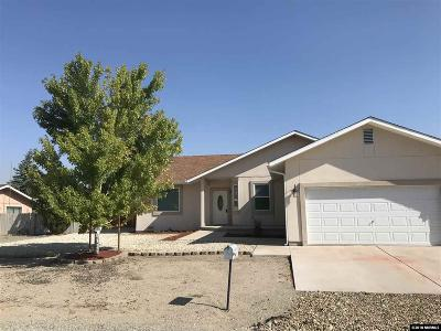 Yerington Single Family Home For Sale: 16 Calico Hills