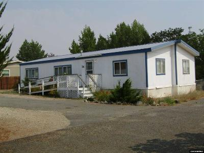 Yerington Manufactured Home Active/Pending-Loan: 34 Bluestone Ave.