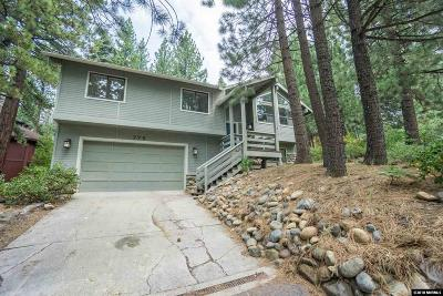 Incline Village Single Family Home For Sale: 779 Golfers Pass