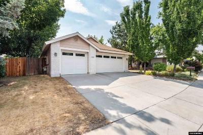 Reno Single Family Home Active/Pending-Loan: 1879 Countryside Ave