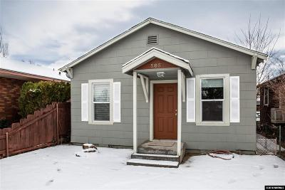 Sparks Single Family Home For Sale: 505 C St