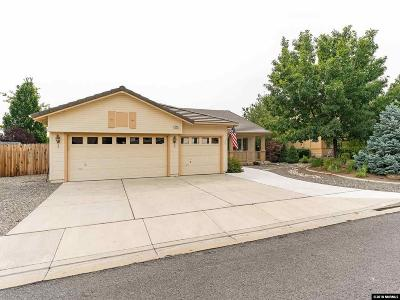 Washoe County Single Family Home Active/Pending-House: 3725 Vancouver Drive