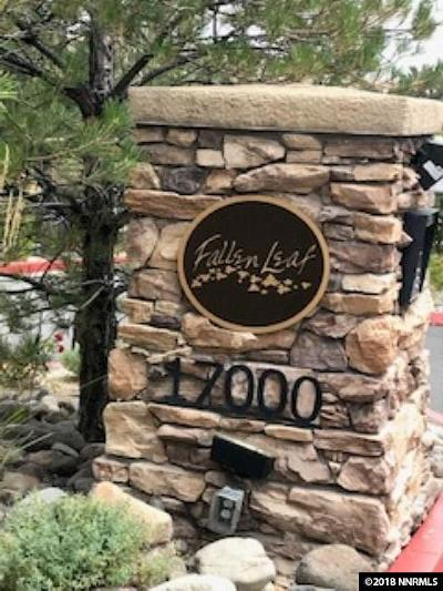 Washoe County Condo/Townhouse Active/Pending-Call: 17000 Wedge Pkwy #2325 #2325