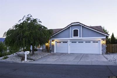 Washoe County Single Family Home Active/Pending-Loan: 2163 Three Wood Lane