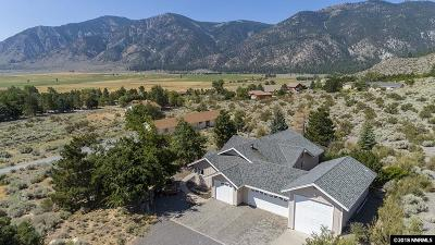 Carson City Single Family Home For Sale: 3492 Mont Blanc Ct