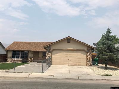 Carson City Single Family Home Active/Pending-Loan: 1612 Spooner Drive