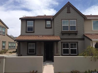 Washoe County Condo/Townhouse For Sale: 2165 Falling Star