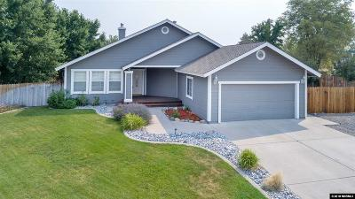 Minden Single Family Home Active/Pending-House: 1288 Halter Ct