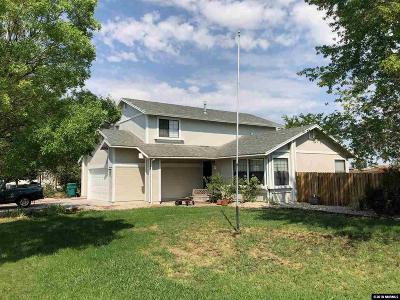 Fallon Single Family Home Active/Pending-Loan: 1378 Bobby Way