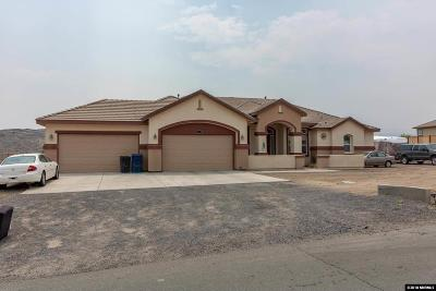 Fernley Single Family Home Active/Pending-Loan: 1205 Sage