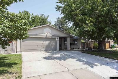 Sparks Single Family Home Active/Pending-Loan: 1058 Monson Drive