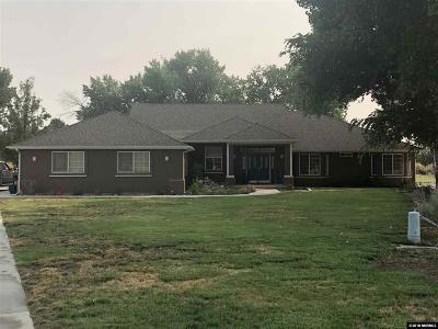 Fallon Single Family Home For Sale: 1322 Venturacci Lane