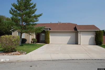 Sparks Single Family Home Active/Pending-Loan: 29 Wildcat Springs