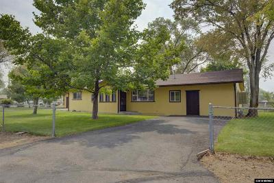 Gardnerville Single Family Home Active/Pending-Loan: 876 Ritter