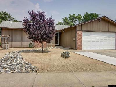 Sparks Single Family Home Active/Pending-Loan: 3114 Saltern Way