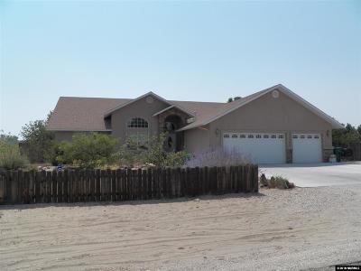 Fallon Single Family Home For Sale: 1369 Bobby