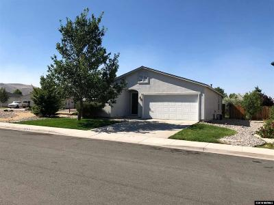 Sparks Single Family Home For Sale: 1216 Halcyon Ct