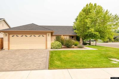 Gardnerville Single Family Home Active/Pending-Call: 1419 Chiltern Court