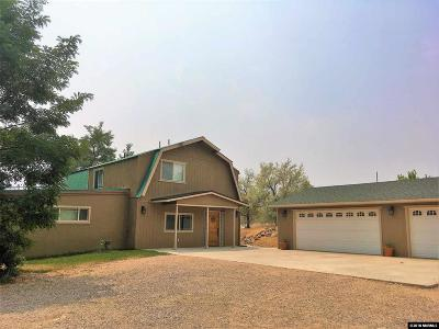 Washoe County Single Family Home Active/Pending-Call: 15995 Rocky Vista