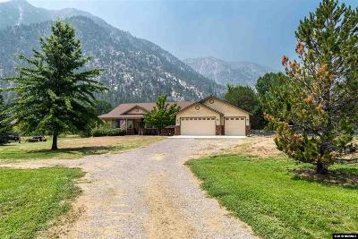 Gardnerville Single Family Home Active/Pending-Loan: 564 Foothill Road