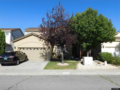 Carson City Single Family Home For Sale: 2883 Ridgecrest