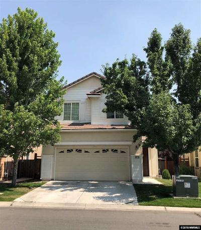 Sparks Single Family Home For Sale: 6670 Altesino