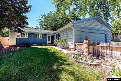 Reno Single Family Home For Sale: 1531 Ebbetts Drive