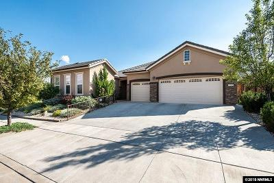 Reno Single Family Home For Sale: 1205 Cliff Park Way