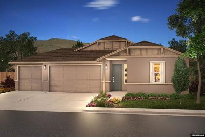 Gardnerville Single Family Home For Sale: 1224 Hat Band