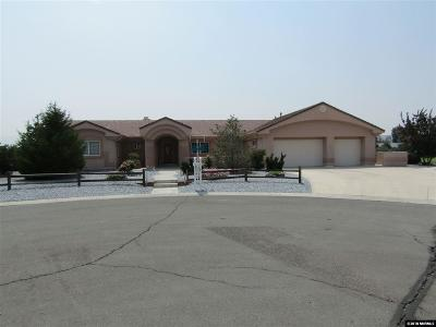 Fernley Single Family Home For Sale: 213 Quail Run Rd.