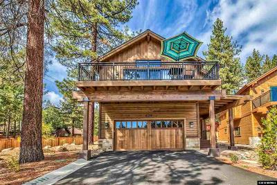 Incline Village Single Family Home For Sale: 672 Rosewood Cir