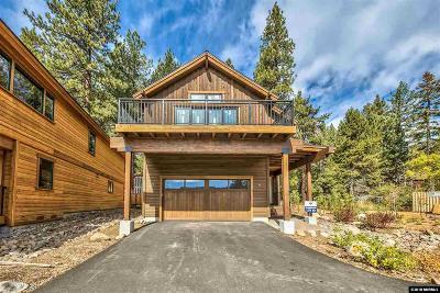 Incline Village Single Family Home For Sale: 684 Rosewood Cir