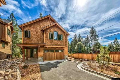 Incline Village Single Family Home For Sale: 637 Rosewood Cir