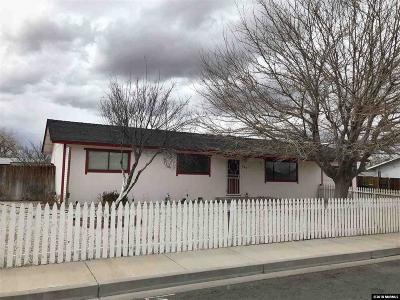 Fernley Single Family Home Active/Pending-Loan: 265 Sandia Drive