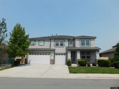 Reno Single Family Home For Sale: 10861 Crooked Canyon