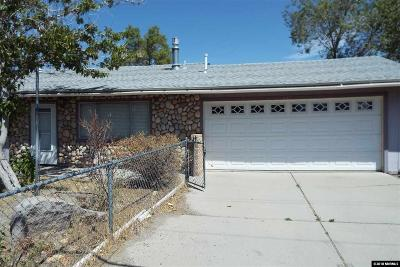 Gardnerville Single Family Home Active/Pending-Loan: 847 Tillman Ln