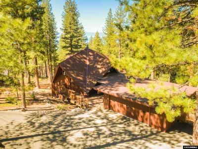 Incline Village Single Family Home For Sale: 609 Woodridge Circle