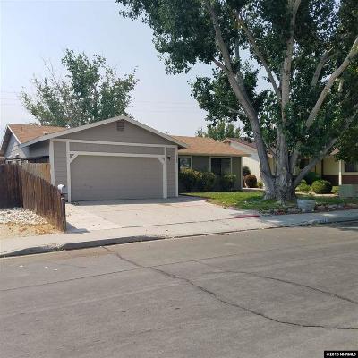 Carson City Single Family Home Active/Pending-Loan: 3584 Emerson