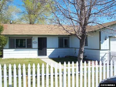 Carson City Single Family Home For Sale: 308 W Gardengate Way
